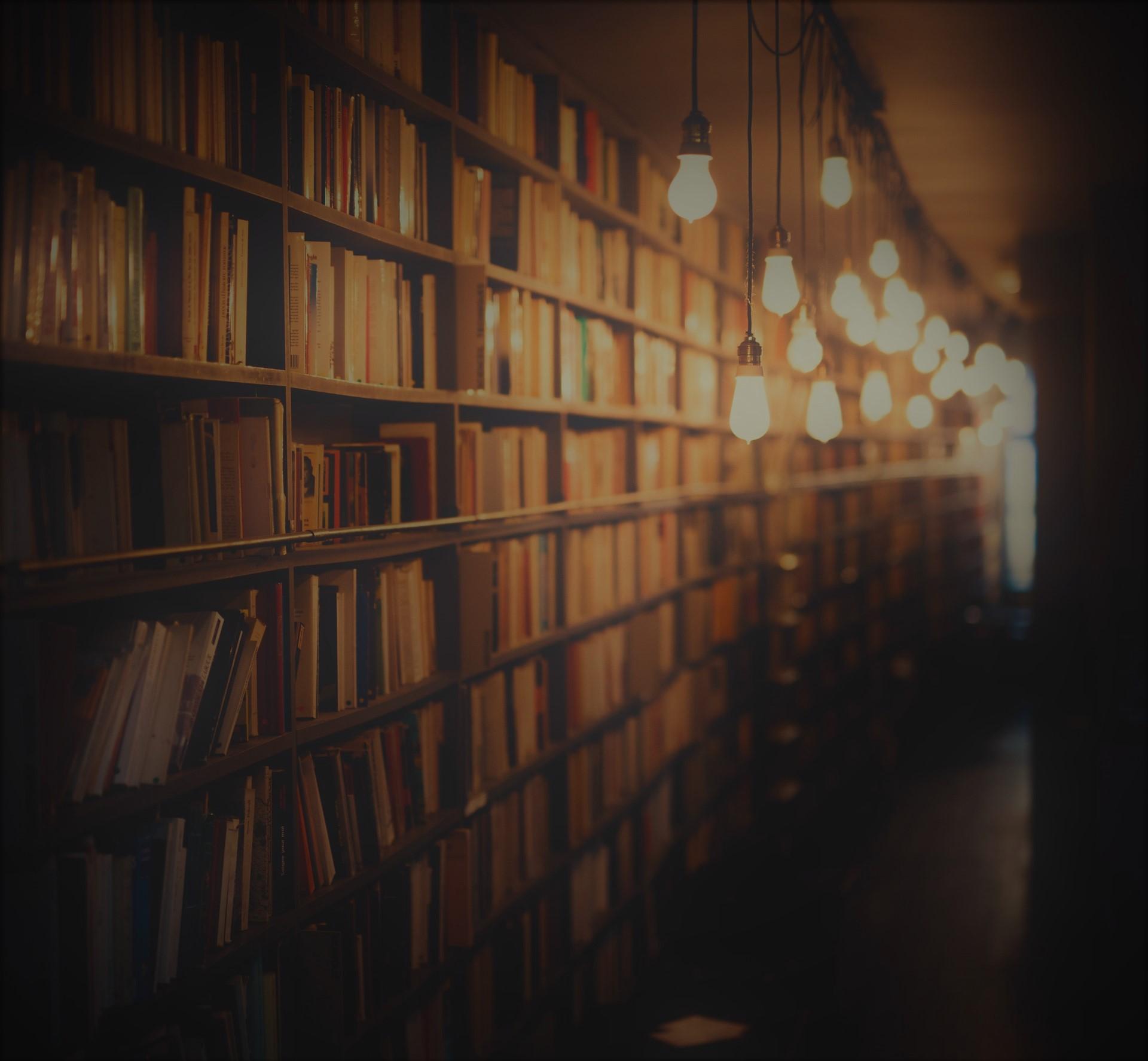 Bibliothek | Wichtiger Ort um Wissen für Spicker zu recherchieren